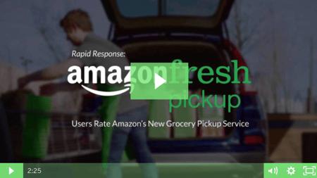Amazon Fresh Customer Experience