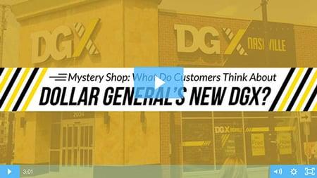 Dollar General's New DGX - Customer Experience