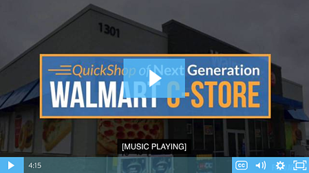 Walmart C-Store Customer Experience Video