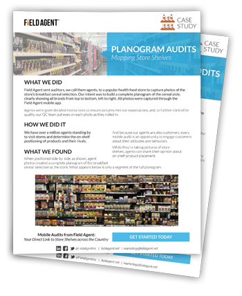 Planogram Audits Case Study