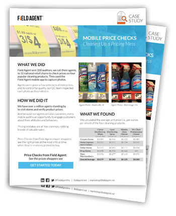 Mobile Price Checks Case Study