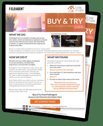 Buy & Try IHUT Case Study