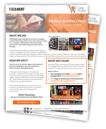 Mobile Shopalongs Case Study