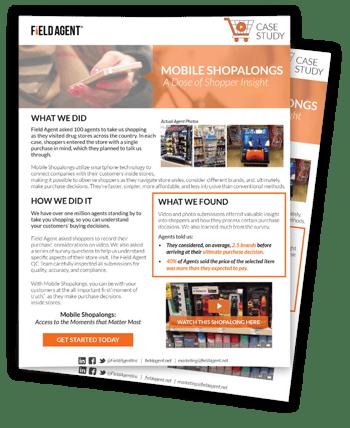 Mobile Shopalongs Case Study