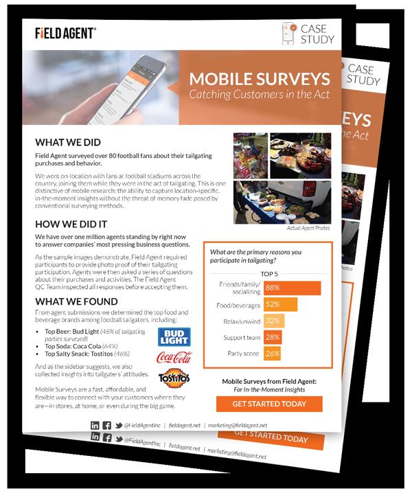 Mobile Surveys Case Study