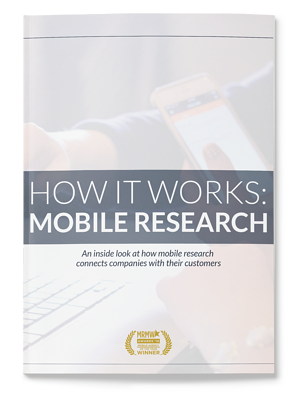 How it Works: Mobile Research Study