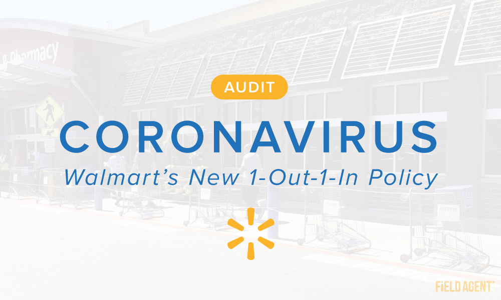"Coronavirus: A Nationwide Look at Walmart's New ""1-Out-1-In"" Queues"