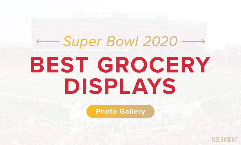 Display Gallery: Super Bowl LIV's High-Scoring Grocery Displays