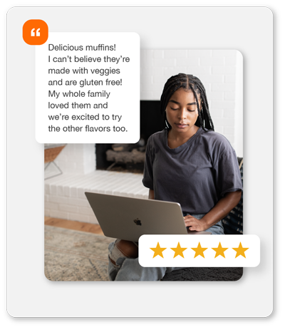 Shopper Leaves Authentic Rating and Review on Retailer Site of Choice